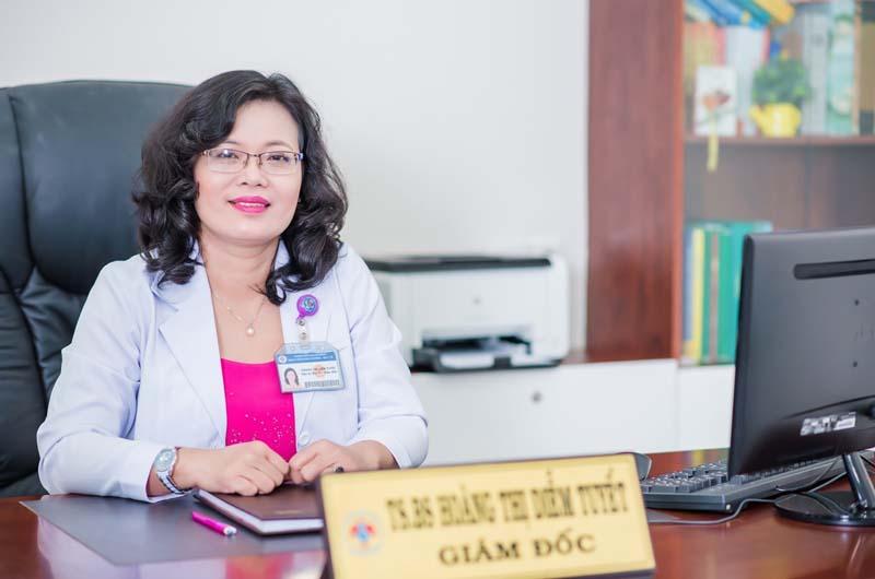 Bác sĩ Hoàng Thị Diễm Tuyết - Giám đốc Bệnh viện