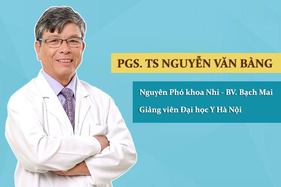 PGS.TS. Bác sĩ Nguyễn Văn Bàng chuyên khoa Nội Nhi tại Hà Nội