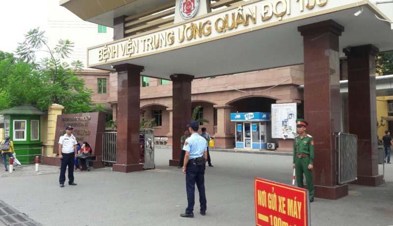 Bệnh viện 108 là bệnh viện tuyến cuối của quân đội khu vực phía Bắc