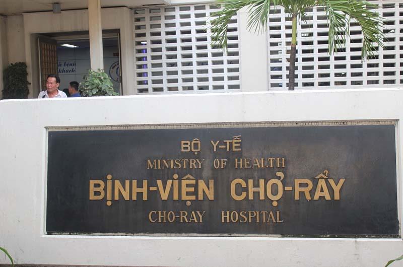 Bệnh viện Chợ Rẫy là một bệnh viện đa khoa trung ương