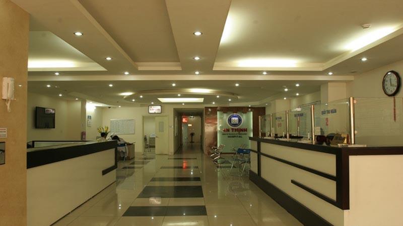 Bệnh viện Phụ sản An Thịnh là bệnh viện phụ sản tư nhân đầu tiên tại miền Bắc