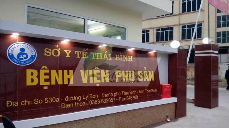 Bệnh viện Phụ sản Thái Bình