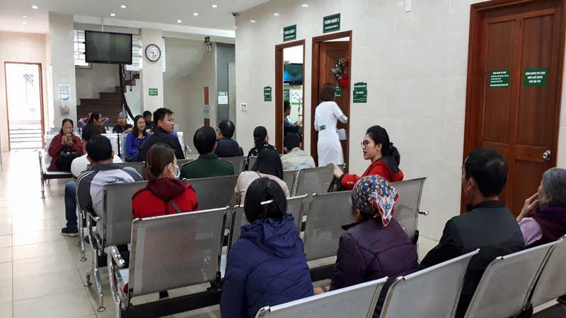 Bệnh viện thực hiện khám từ thứ Hai đến thứ Sáu hàng tuần