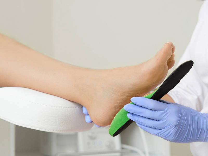 Điều trị gai xương gót