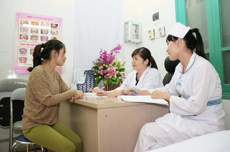 Khám sản phụ khoa tại Bệnh viện Phụ sản Thái Bình