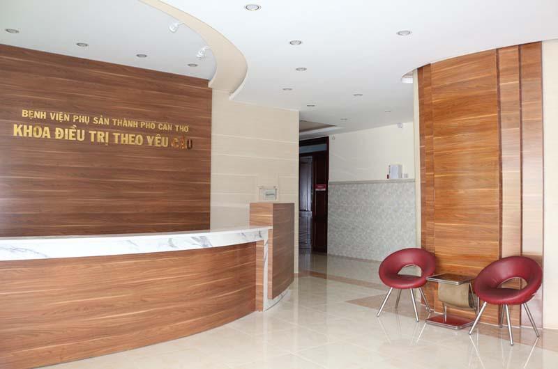 Khoa Điều trị theo yêu cầu của Bệnh viện Phụ sản Thành phố Cần Thơ