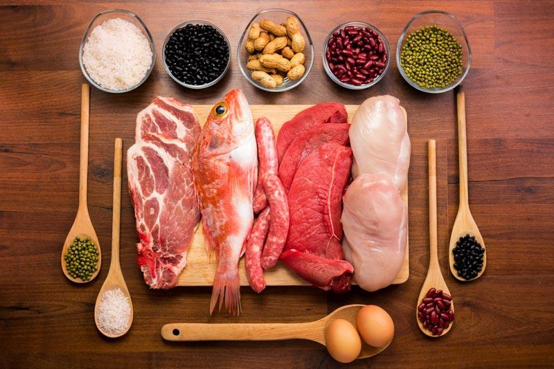Mang thai tháng thứ 5 nên ăn gì? - Mẹ ăn thường xuyên thực phẩm giàu protein