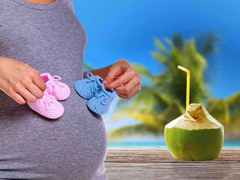 Mẹ bầu 3 tháng cuối thai kỳ có nên uống nước dừa vì rất tốt cho sức khỏe