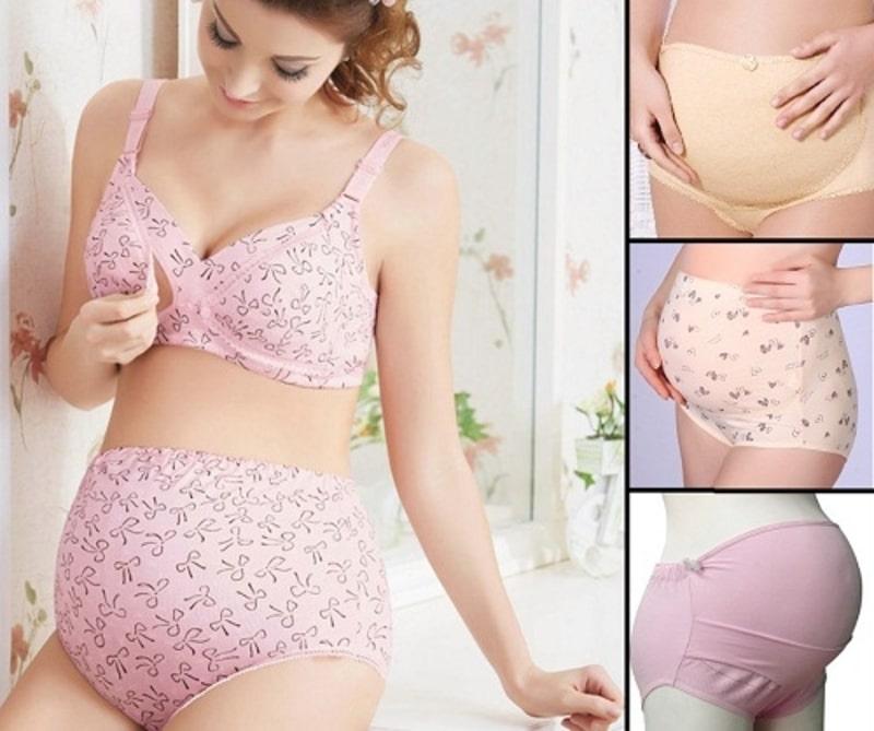 Nên chọn đồ lót từ vải cotton, quần cạp cao giúp giảm tiếp xúc vết mổ