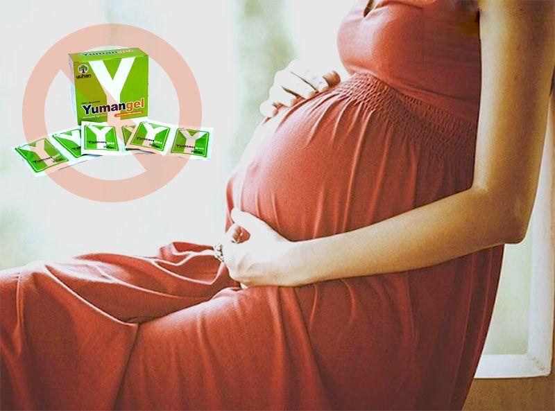 Phụ nữ có thai không nên sử dụng Yumangel