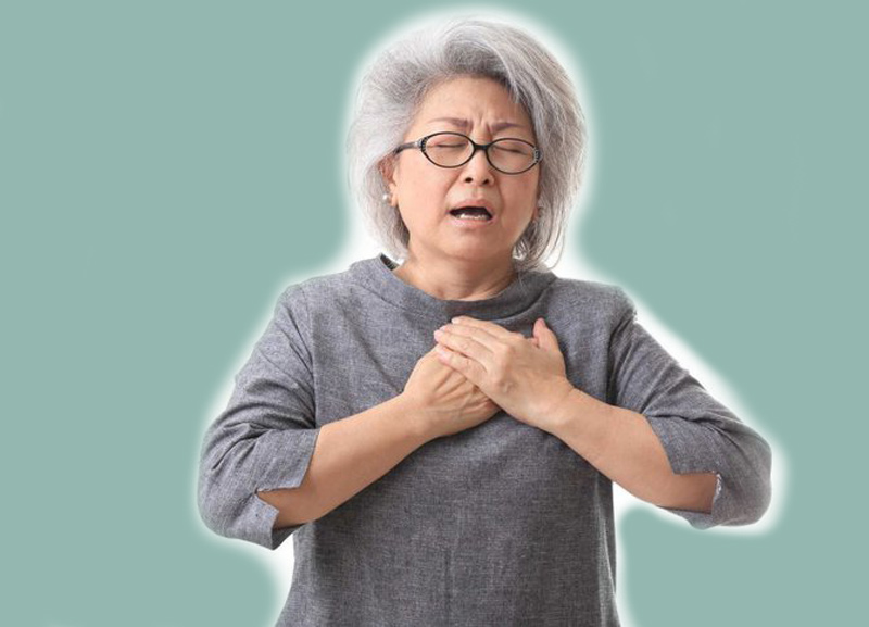 Sau khi dùng thuốc, người bệnh có thể cảm thấy đau tức ngực