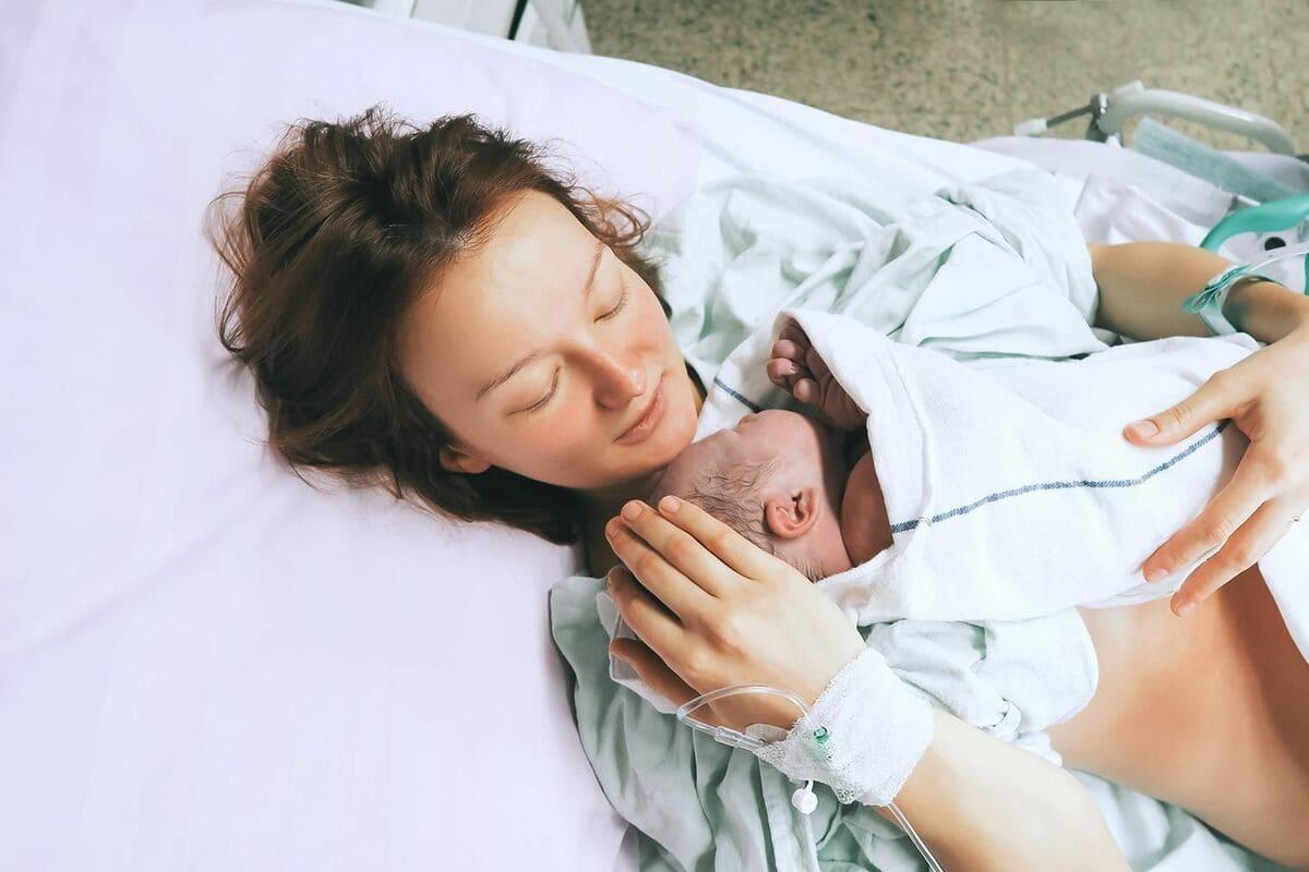 Sinh con là bước cuối cùng của quá trình mang thai
