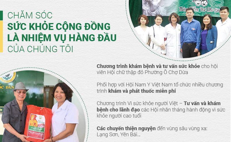 Thuốc dân tộc luôn đề cao công tác chăm sóc sức khỏe cộng đồng