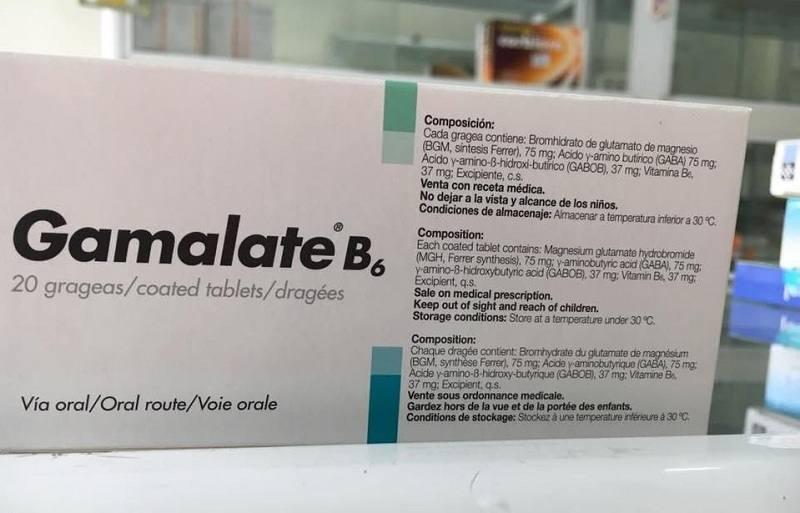 Thuốc Gamalate B6 có tác dụng gì?