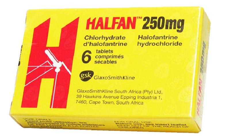 Thuốc Halofantrine có công dụng gì?