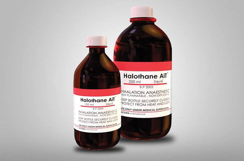 Thuốc Halothan có công dụng gì?