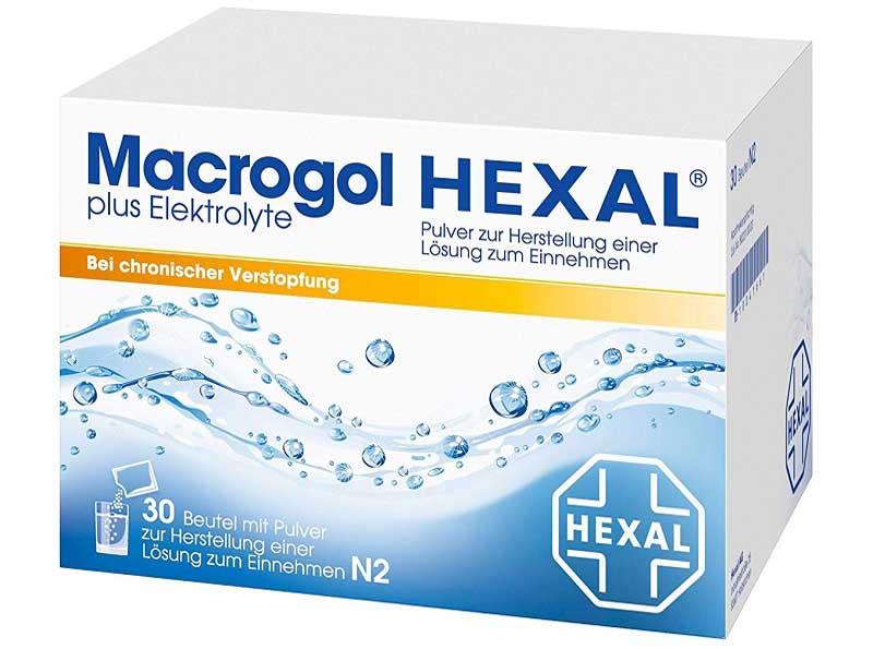 Thuốc nhuận tràng Macrogol sử dụng trong điều trị bệnh táo bón