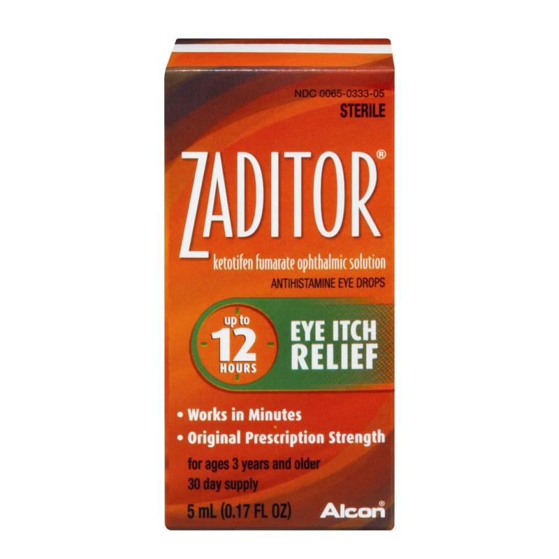 Thuốc Zaditor được sử dụng để điều trị bệnh về mắt do dị ứng