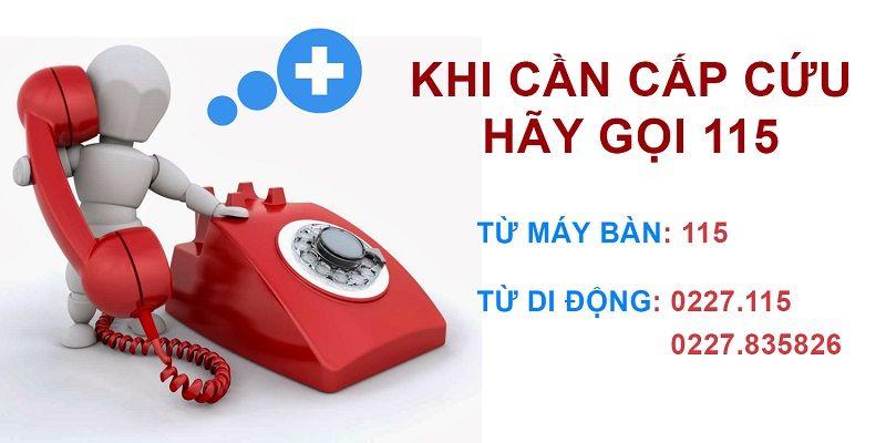 Trong trường hợp khẩn cấp do quá liều hoặc dùng thuốc không đúng cách hãy gọi cấp cứu hoặc nhanh chóng đến bệnh viện gần nhà