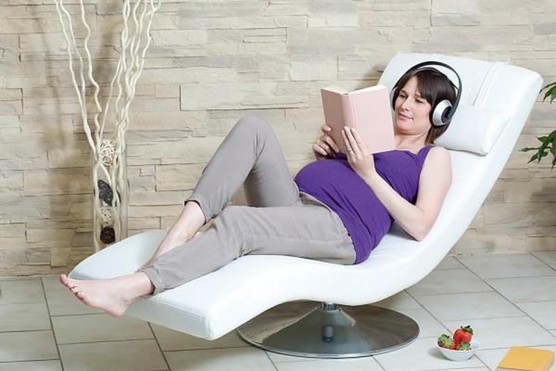 Trước khi sinh cần thư giãn nhiều hơn