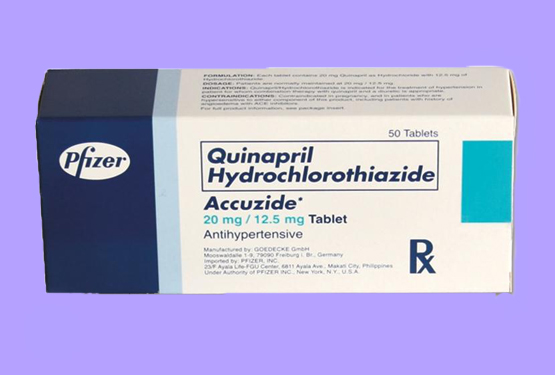 Quinapril + hydrochlorothiazide
