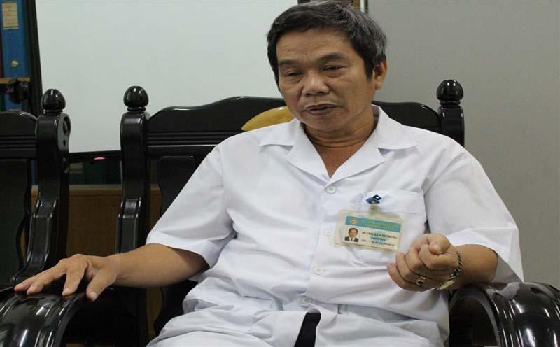 Bác sĩ Lâm Tứ Trung - Giám đốc bệnh viện