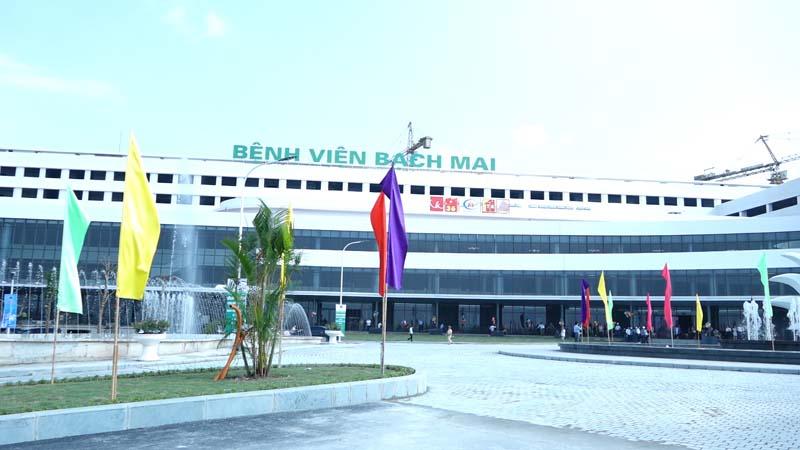 Bệnh viện Bạch Mai là một trong những bệnh viện lớn nhất cả nước