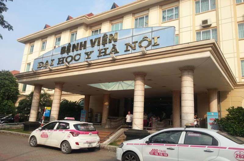 Bệnh viện Đại học Y Hà Nội là một trong 38 bệnh viện tuyến trung ương của cả nước