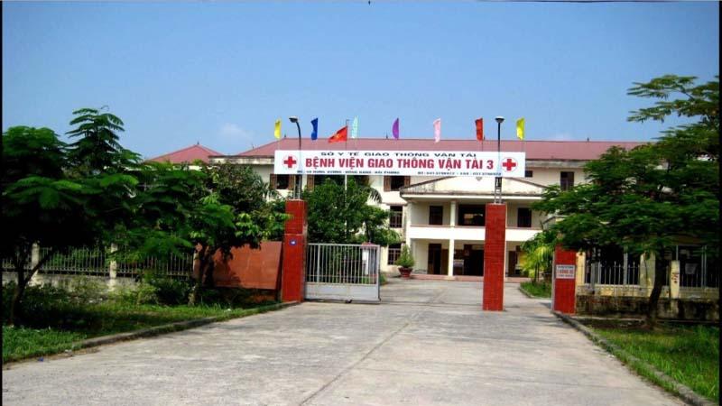 Bệnh viện Giao thông Vận tải Hải Phòng