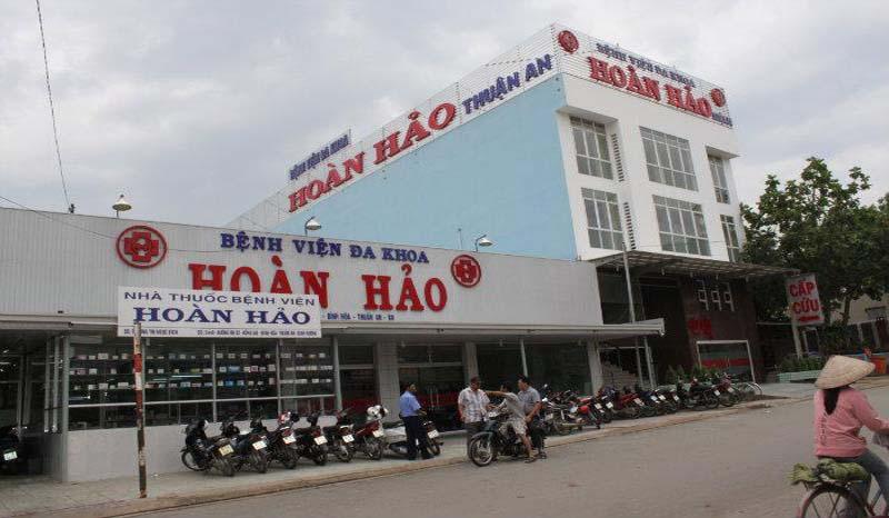Bệnh viện Hoàn Hảo là hệ thống bệnh viện với nhiều chi nhánh