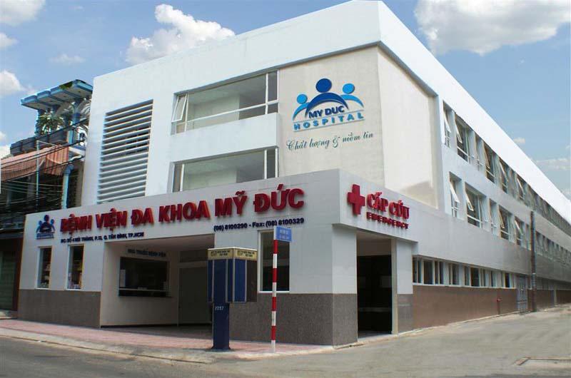 Bệnh viện Mỹ Đức là một bệnh viện uy tín và chất lượng tại Thành phố Hồ Chí Minh