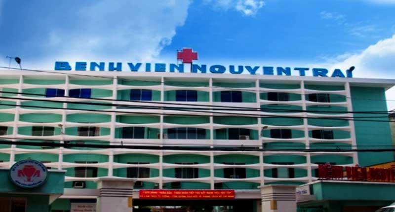Bệnh viện Nguyễn Trãi là bệnh viện hạng I với 800 giường bệnh