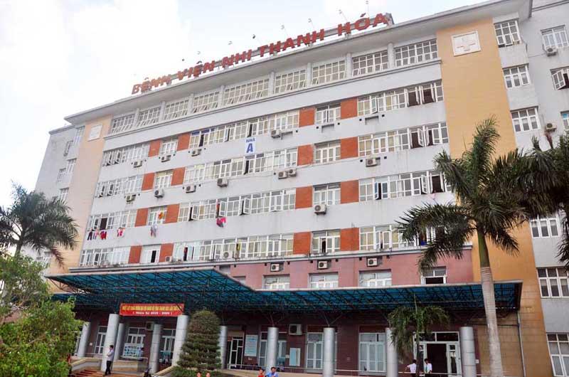 Bệnh viện Nhi Thanh Hóa là bệnh viện chất lượng tại Thanh Hóa