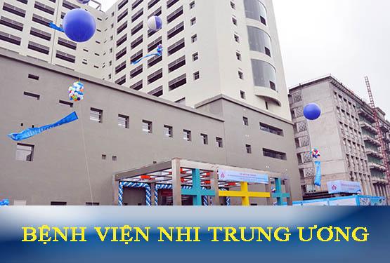 Bệnh viện Nhi Trung ương: Quy trình, địa chỉ và lịch khám trong tuần