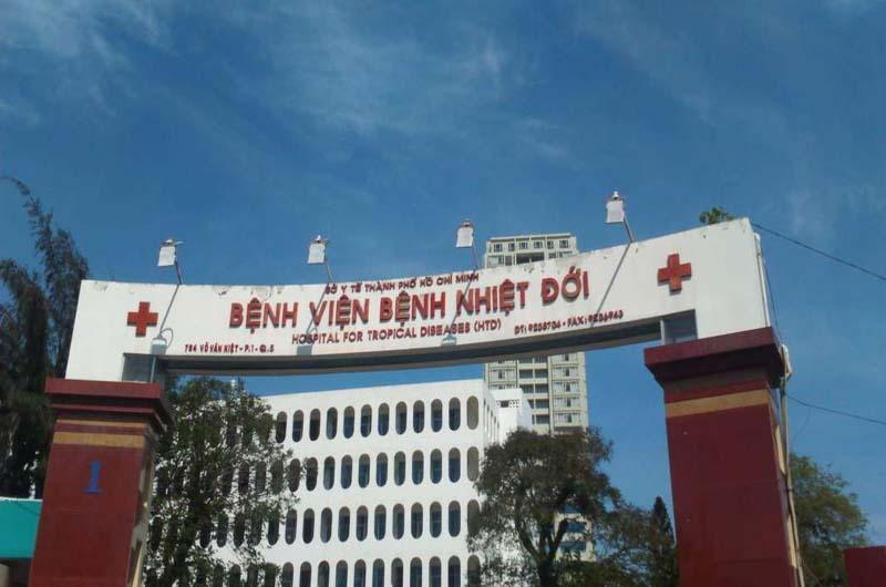 Bệnh viện Nhiệt đới Thành phố Hồ Chí Minh với tiền thân là Bệnh viện Chợ Quán