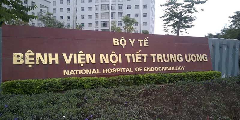 Bệnh viện Nội tiết Trung ương trực thuộc Bộ Y tế