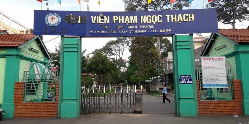 Bệnh viện Phạm Ngọc Thạch TPHCM