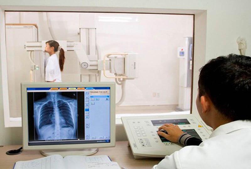 Bệnh viện sở hữu máy chụp X-quang kỹ thuật số