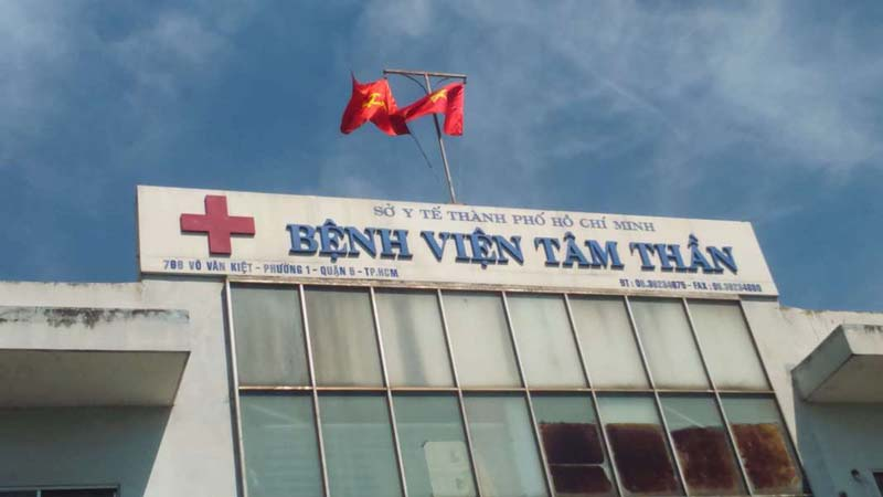 Bệnh viện Tâm thần TP. HCM là bệnh viện lâu đời nhất thành phố