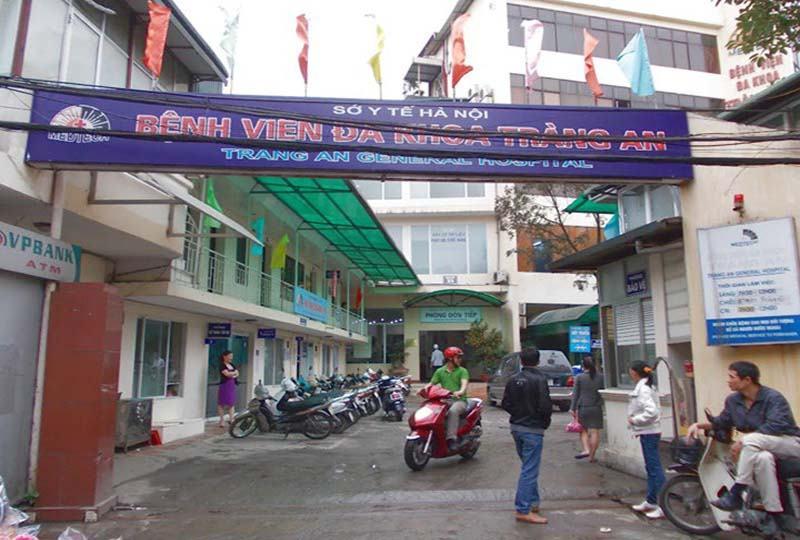 Bệnh viện Tràng An là bệnh viện tư nhân uy tín tại Hà Nội