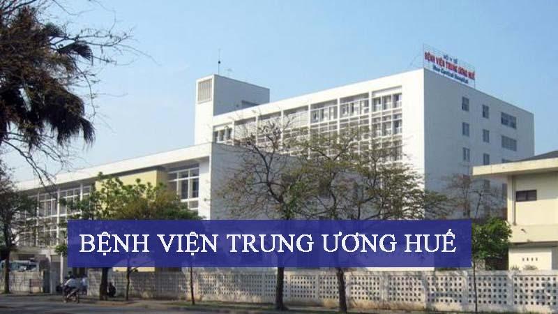 Bệnh viện Trung ương Huế là một trong ba bệnh viện trung ương lớn nhất cả nước