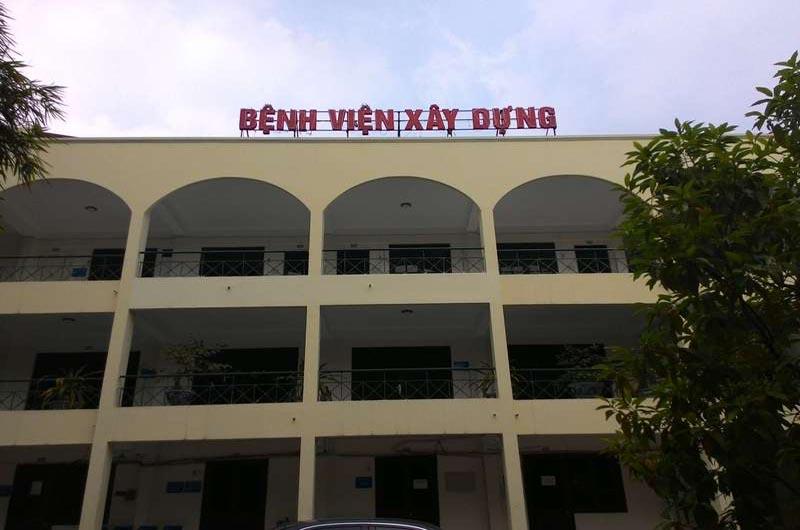 Bệnh viện Xây Dựng là bệnh viện trực thuộc Bộ Xây Dựng
