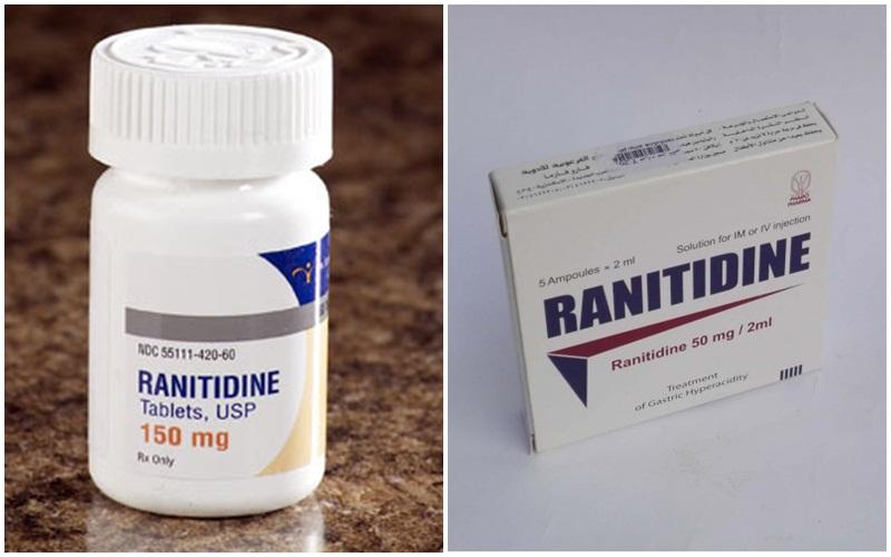 Cẩn thận khi dùng chung Ranitidine với các loại thuốc khác