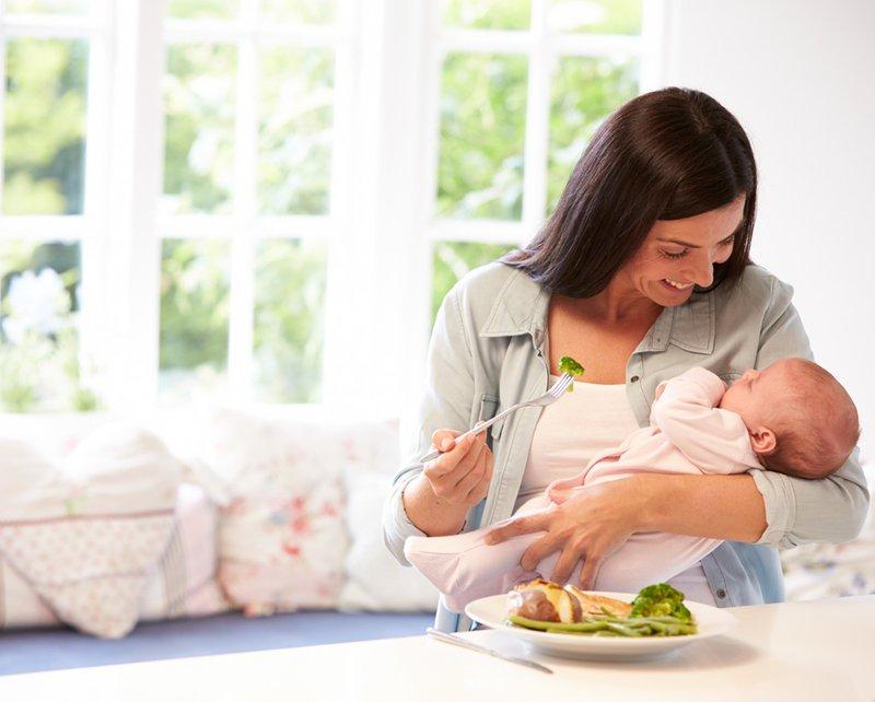 Chọn thực phẩm lợi sữa sau sinh mổ