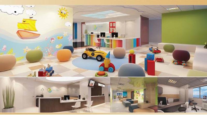 Hệ thống phòng ốc của Bệnh viện Hạnh Phúc