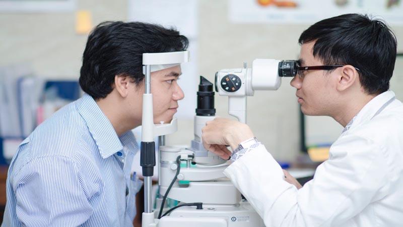 Khoa Mắt là một trong những khoa thế mạnh của bệnh viện