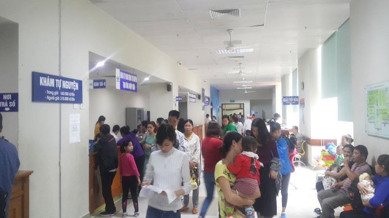 Khu khám tự nguyện A Bệnh viện Nhi Trung ương