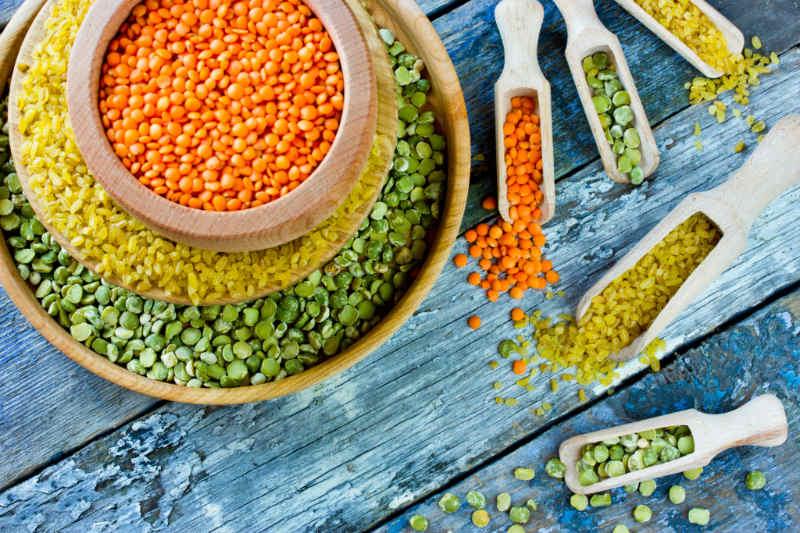 Kiêng ăn gì sau sinh mổ: Các loại đậu gây đầy hơi