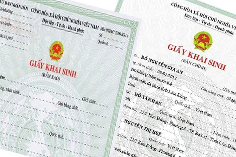 Làm giấy khai sinh cho con cần chứng minh quan hệ nếu chưa đăng ký kết hôn