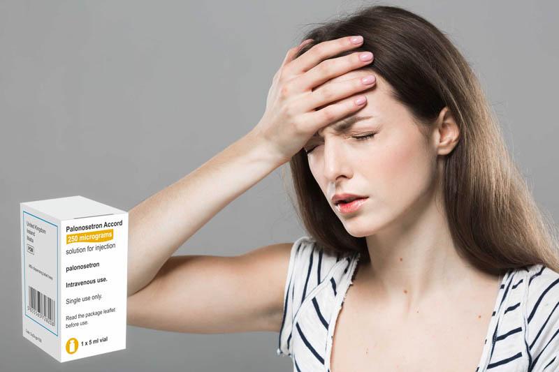Palonosetron có thể gây đau đầu và chóng mặt nghiêm trọng cho người bệnh